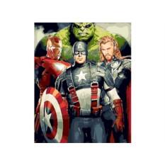 Картинапо номерам «Мстители»