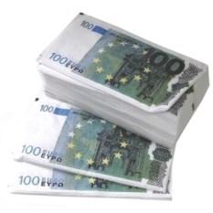 Салфетки 100 евро