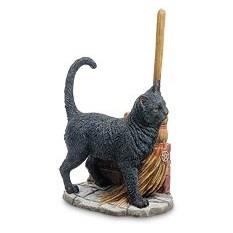 Статуэтка Кот с метлой