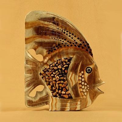 Рыба декор «Камушки» 25 см