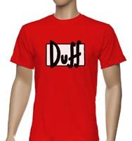 Футболка Duff beer, шелкография