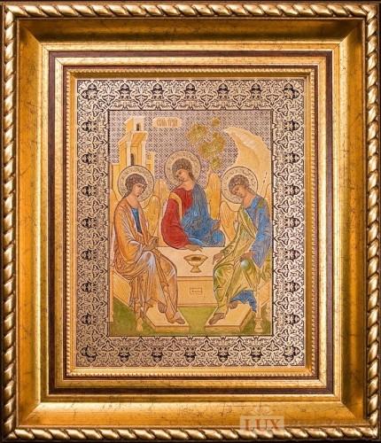 Гравюра Пресвятая Троица