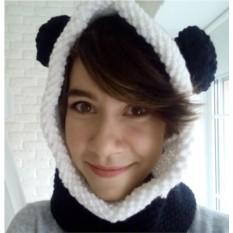 Капюшон-снуд Панда