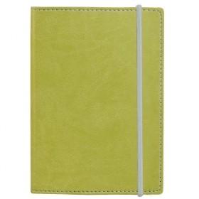 Ежедневник Vivid Colors в мягкой обложке, недатированный, зеленый