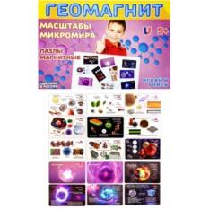 Магнитный пазл «Масштабы микромира»