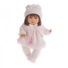 Кукла-малыш Кристи в светло-розовом Munecas Antonio Juan