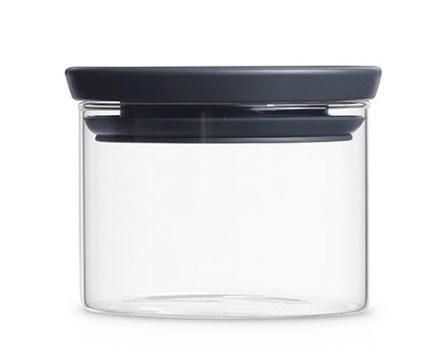 Стеклянная банка для хранения, объем: 0,3 л