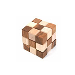 Головоломка «Фантастическая змейка-куб»