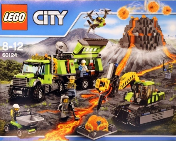 Конструктор База исследователей вулканов Lego