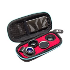 Премиум-набор из 5-ти объективов для iPhone и др. смартфонов