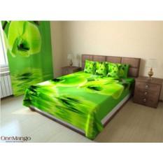 Фотопокрывало Зеленая орхидея