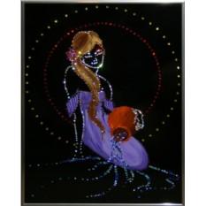 Картина с кристаллами Сваровски Роман с водой