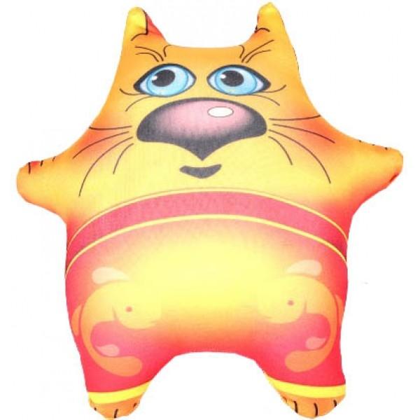 Игрушка-брелок антистрессовая Толстый кот