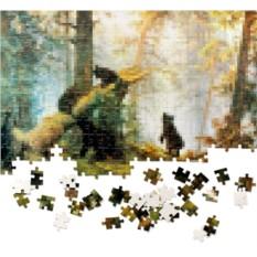 Пазл Пазлус Пикселюс. Утро в сосновом лесу»