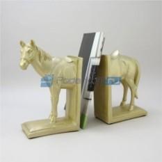 Держатель для книг Белая лошадь