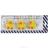 Погремушка-подвеска на коляску Happy Baby Утята, цвет: желтый