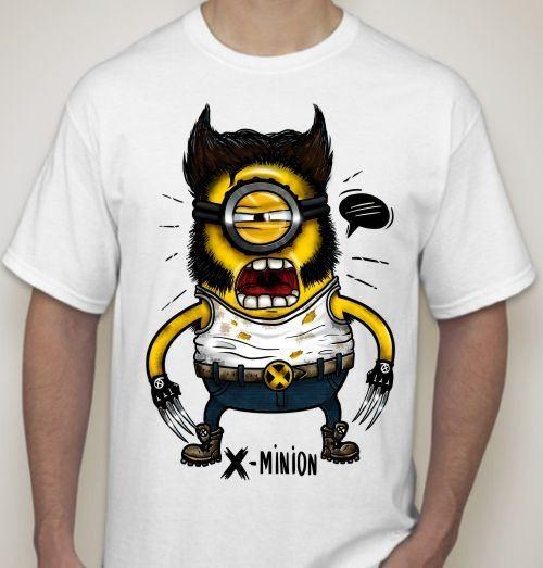 Мужская футболка Х - Minion