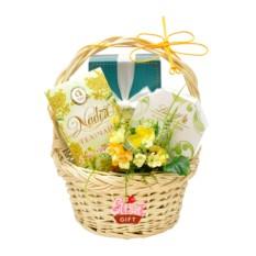 Подарочная корзина Весенний презент
