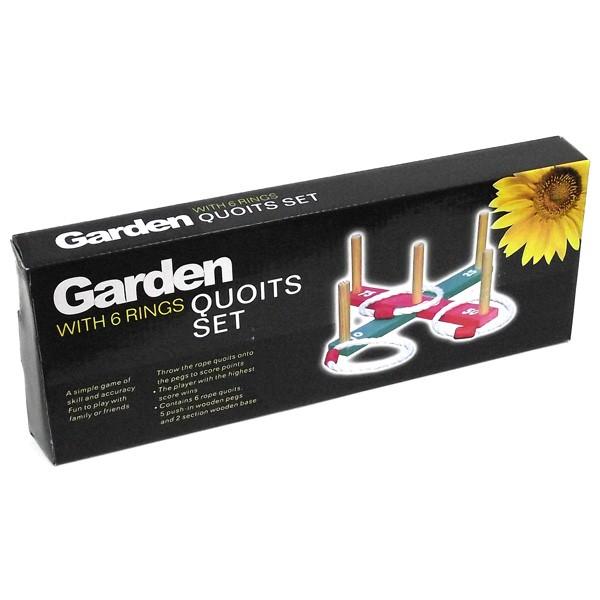 Игра Garden Метание колец