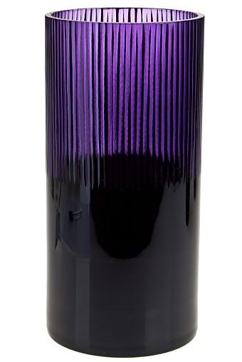 Ваза для цветов Классика черно-фиолетовая