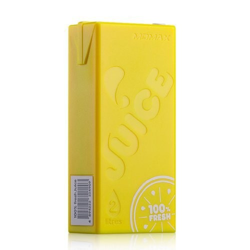 Внешний аккумулятор 4400 mAh Momax iPower Juice Yellow