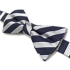 Яркий галстук-бабочка в полоску Laura Biagiotti
