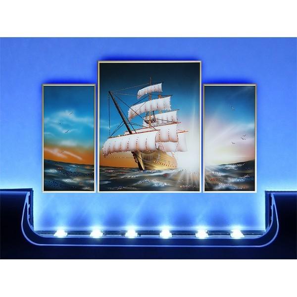 Картина Swarovski Композиция - морской круиз