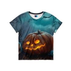 Детская 3D-футболка Тыква
