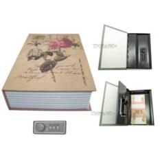 Книга-сейф с кодовым замком Rose