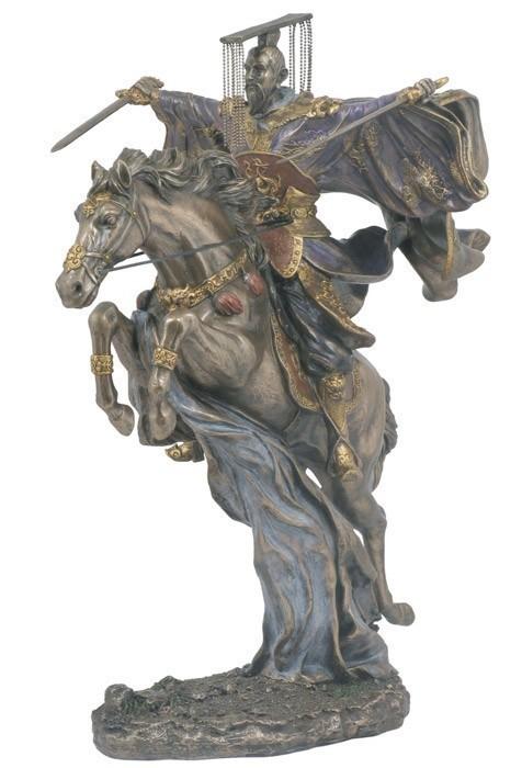 Бронзовая статуэтка Китайский Император