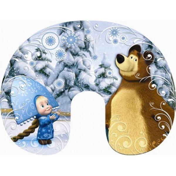 Подголовник антистресс Маша и Медведь1 (мал).