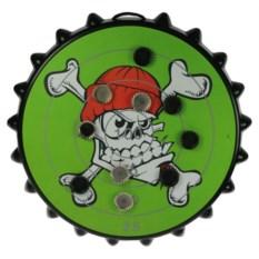 Зеленая игра к пиву Магнитная мишень для пивных пробок