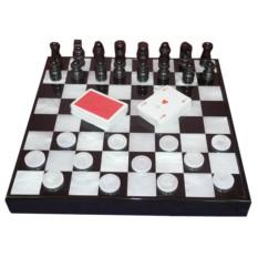Набор игр Шахматы, шашки, карты от Renzo Romagnoli