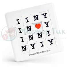 Игра-головоломка Пятнашка I love NY