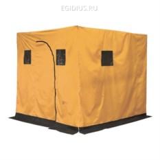 Оранжевая походная баня