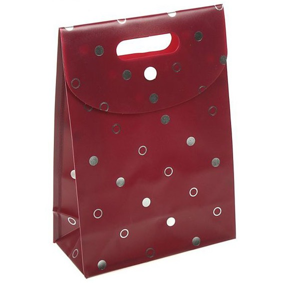 Пакет-коробочка «Бордо»