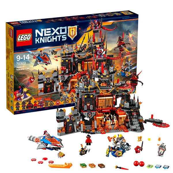 Конструктор Lego Nexo Knights Логово Джестро
