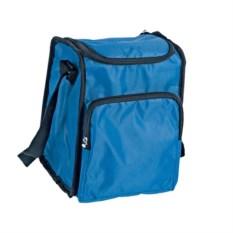 Синяя сумка-холодильник на молнии на 3,5 литра