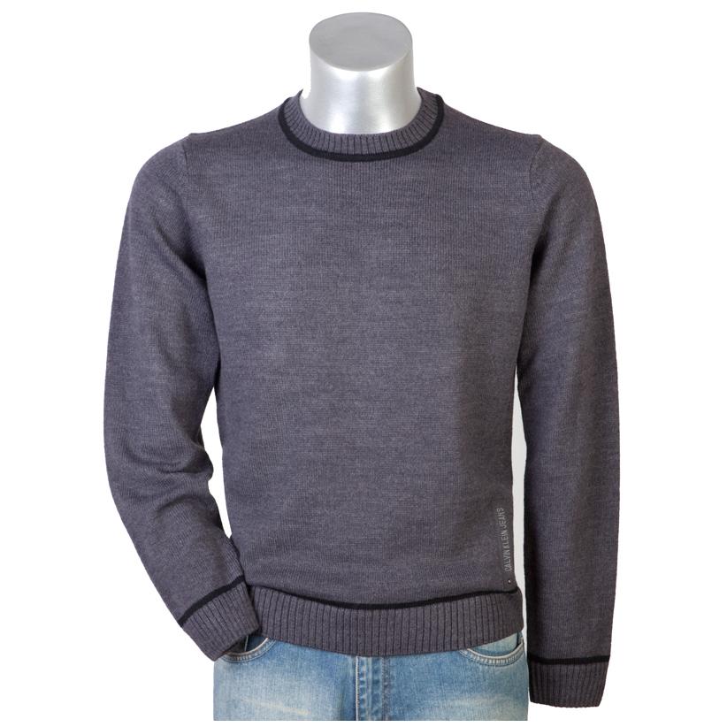 Меланжевый Пуловер Мужской Доставка