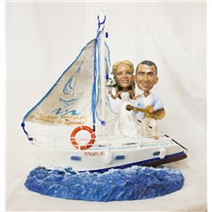 Статуэтка по фото Свобода на яхте