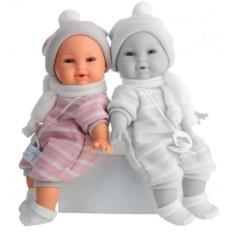 Плачущая кукла-младенец Нано в розовом