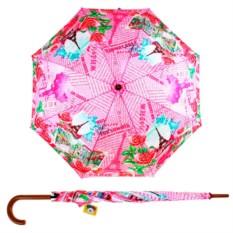 Полуавтоматический зонт-трость Париж