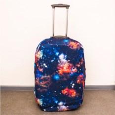 Чехол для чемодана Космос