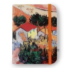 Флорентийская записная книжка «Пейзаж с домом и пахарем»