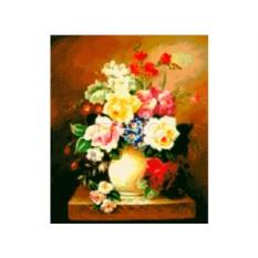 Набор для вышивки стразами «Цветочный натюрморт»