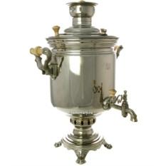 Угольный (жаровый, дровяной) самовар на 7 литров цилиндр