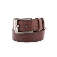 Коричневый мужской кожаный ремень G.Ferretti тип 65-6