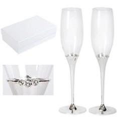 Бокалы для шампанского Crystal