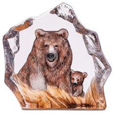 Скульптура Бурый медведь