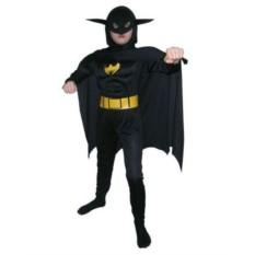 Детский карнавальный костюм Бэтмен с мускулатурой